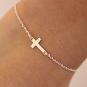 COMING SOON! Dainty Gold Cross Bracelet